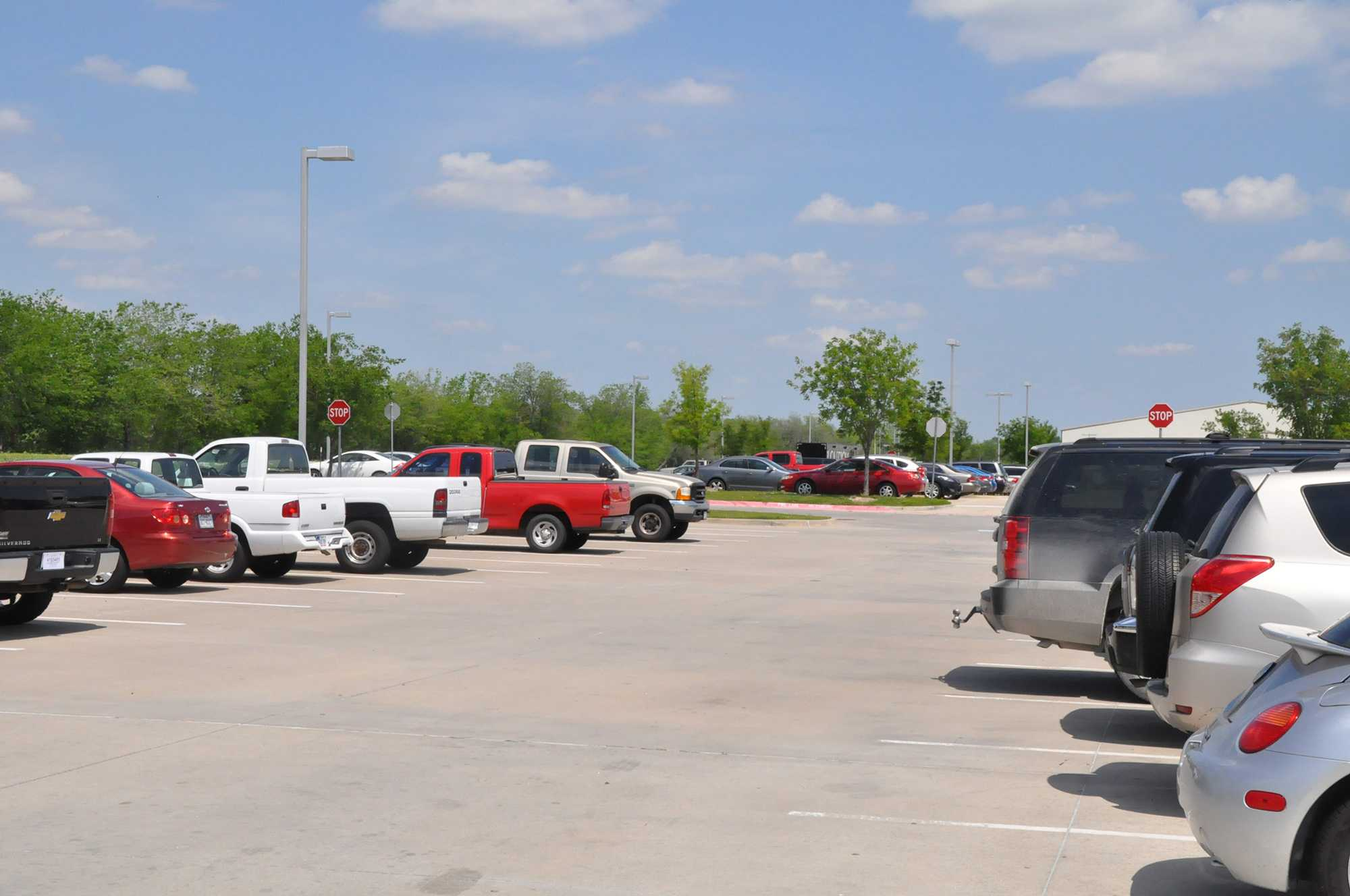 While the school parking lots may seem silent and still during the school day, before and after hours they can be a center for traffic and even reckless driving.
