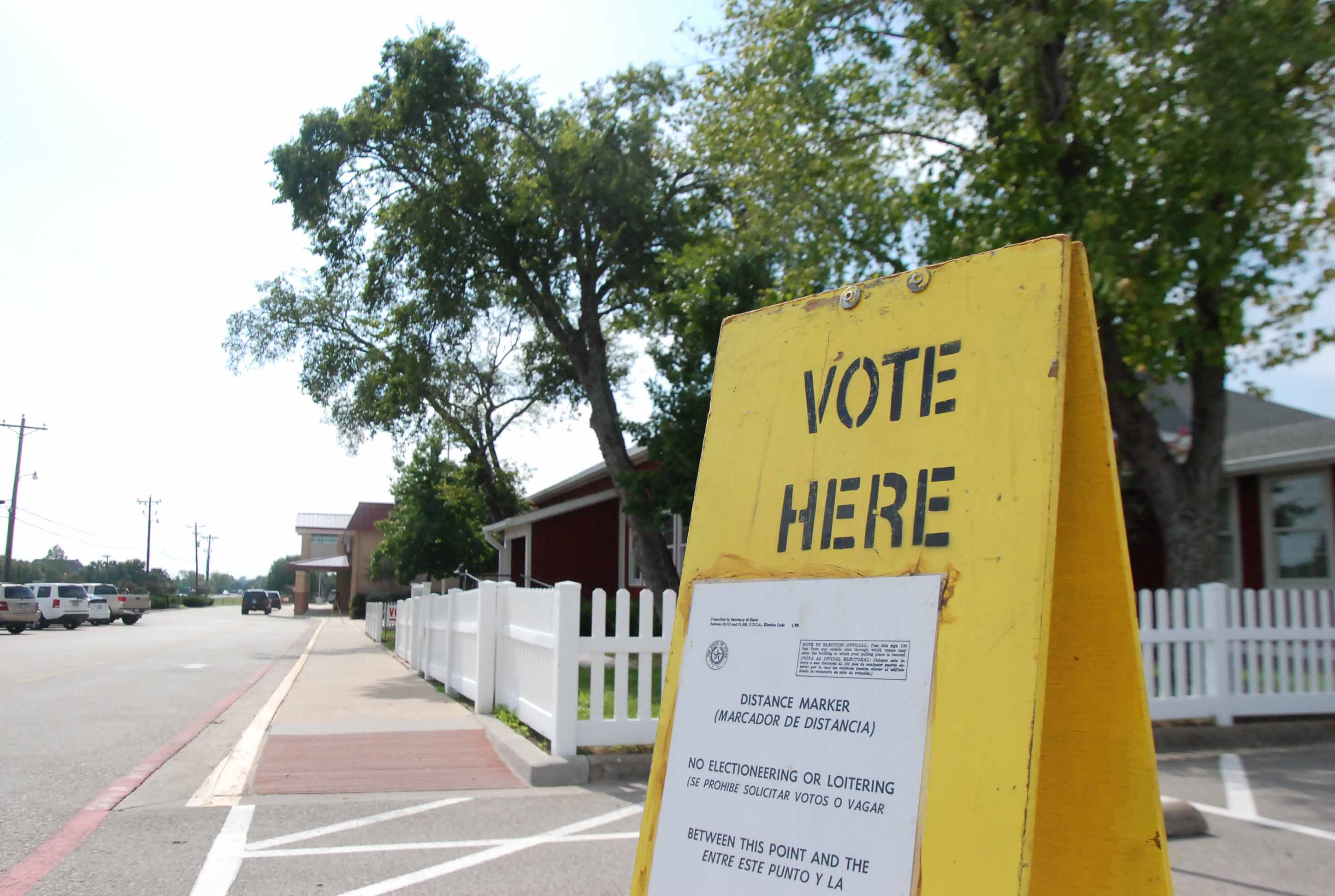 Voting over the possible bond will take place in many locations throughout the community.
