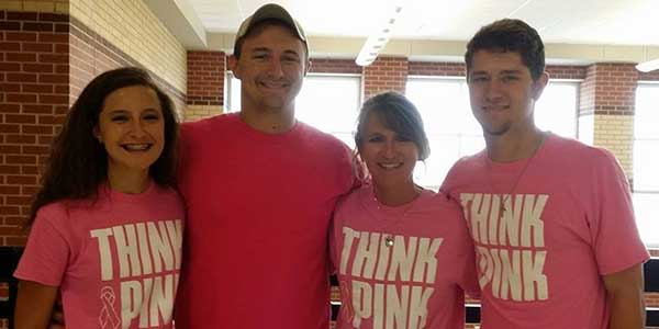 Moving forward: Donna Lusby's battle with cancer