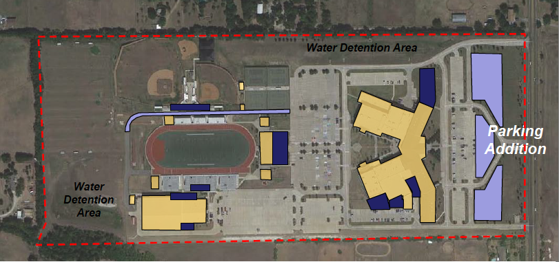 The bond propositions passed, meaning development should be expected on campus facilities.