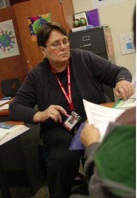 Homa Lewis taught many freshmen in their first AP class, AP Human Geography. Some students felt nervous aftet the exam, but others felt confident.