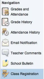 Students that would like to change their schedule must now go to PowerSchool.