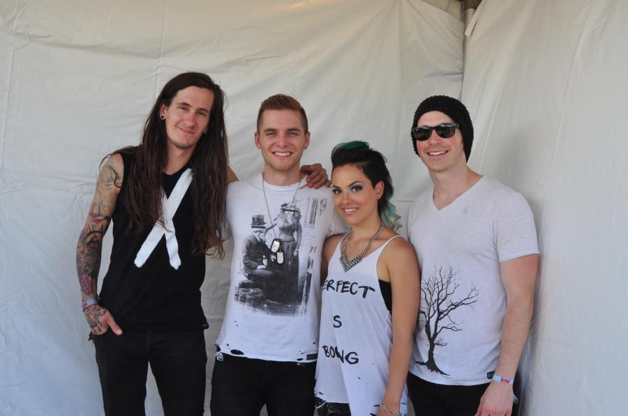 The Red Ledger's Catherine Hathaway had an interview with Suburbia music festival performer, Veridia.