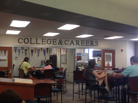There will be a college and career fair hosted in the main gym on Wednesday, September 10 from 1-3.