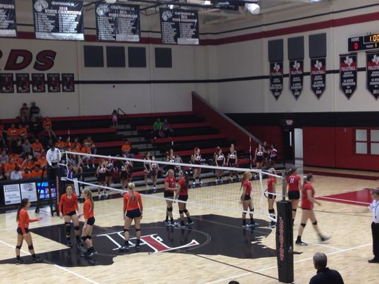The Leopards had to get five sets against McKinney north, but won 3-2