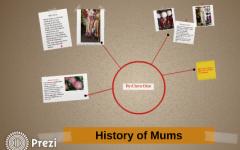 History of mums