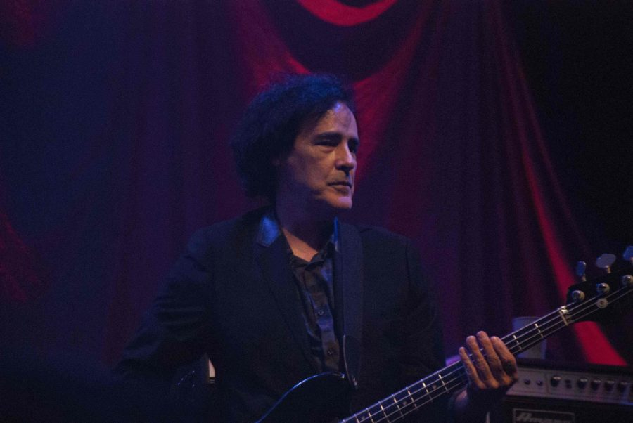Bassist Ron Blair plays as part of Tom Petty and the Heartbreakers