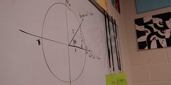 Due to budget cuts, acquiring a math lab has become extremely difficult if a student has a record of doing well in math.