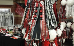 From garters to mums, the Majestic moms have a variety of homecoming accessories for sale every day during lunch.