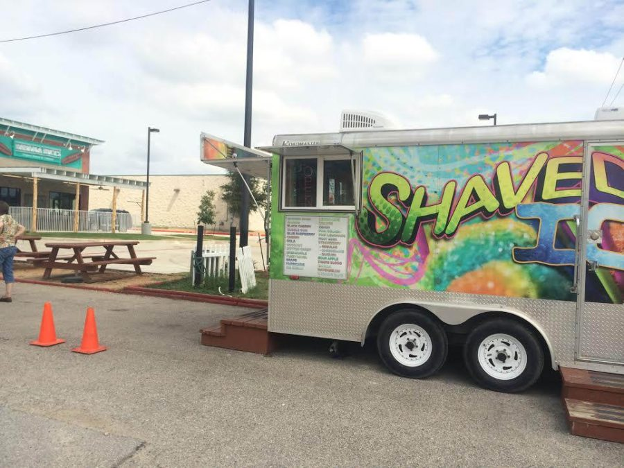 A local shaved ice stand is now in competition for business with Bahama Bucks.
