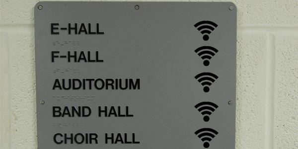 The school is now equipped with WiFi, giving students and teachers the ability to connect to the internet all over campus.