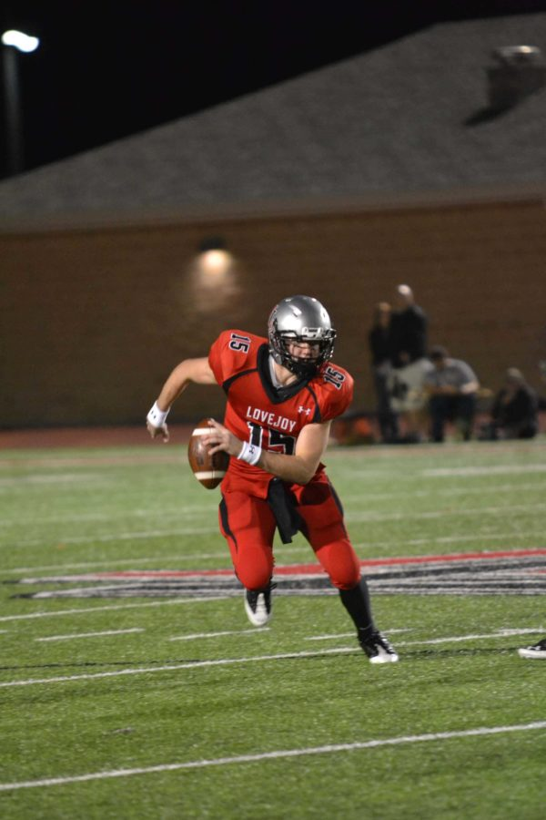 Junior Bowman Sells is the quarterback for the Leopards. The Red Ledgers Dom Mazero catches up with him.