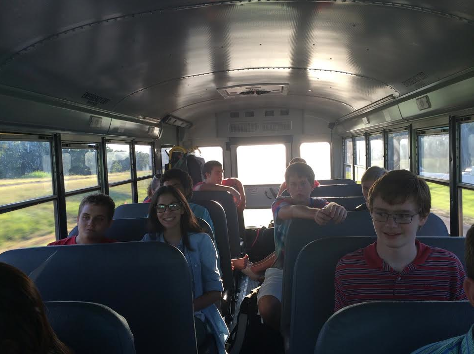 Debate students travel all over the region and state in order to earn points for state. Many students have all ready qualified.