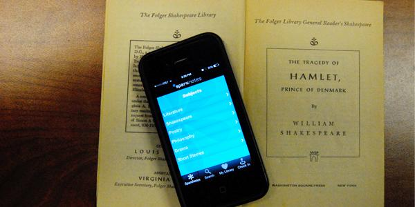 Students may take the fast-lane and choose to use the sparknotes for a book instead of reading it for English class.