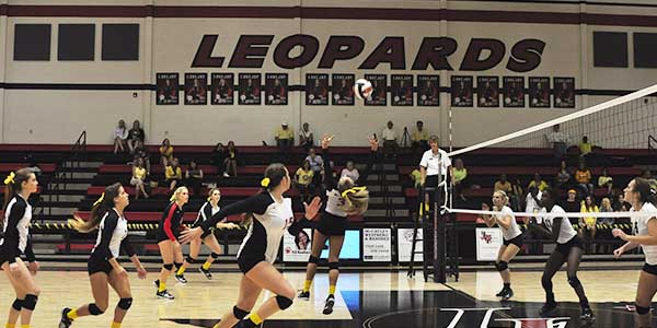The Leopard volleyball is seeking to keep its perfect record intact as it takes on Prosper in a key 10-5A match Friday night. If the Leopards win, they will clinch the district championship.