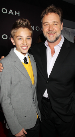 Casalegno is well acquainted with actor Russell Crowe due to their work in the movie Noah.
