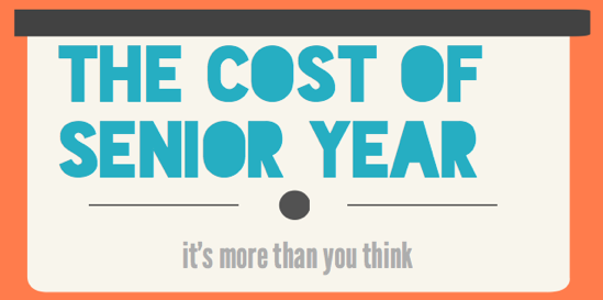 With numerous fees and events, senior year can be considered the most expensive in high school.