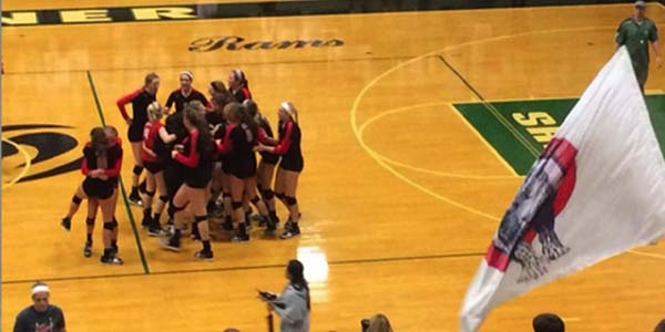 After beating Prosper in four games, Leopard volleyball will begin the first round of state play Thursday night against Aledo. The game will be at 7 p.m. at the Curtis Caldwell center in Garland.
