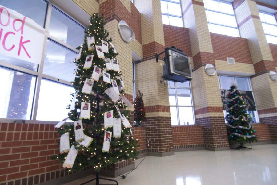 Senior Hunter Pfaff has sponsored an Angel Tree benefiting children in the local area.