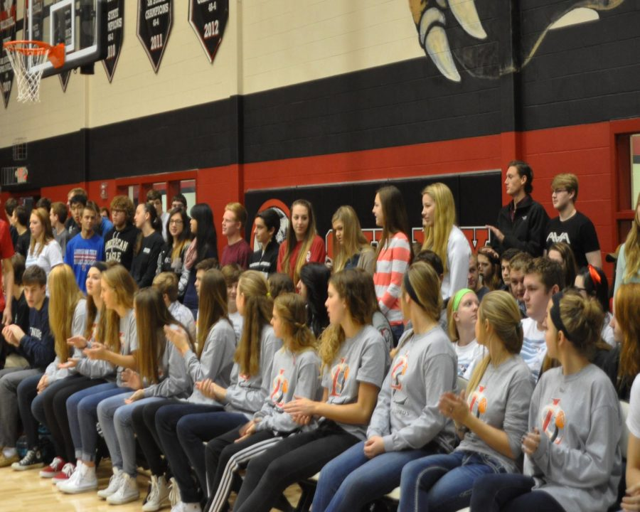 The school recognizes the students that have completed 3 or more Ap exams and have got a score of a 3 or higher