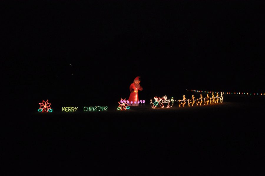 Located farther down Rock Ridge Rd, this display is still  wonderful in and of its self