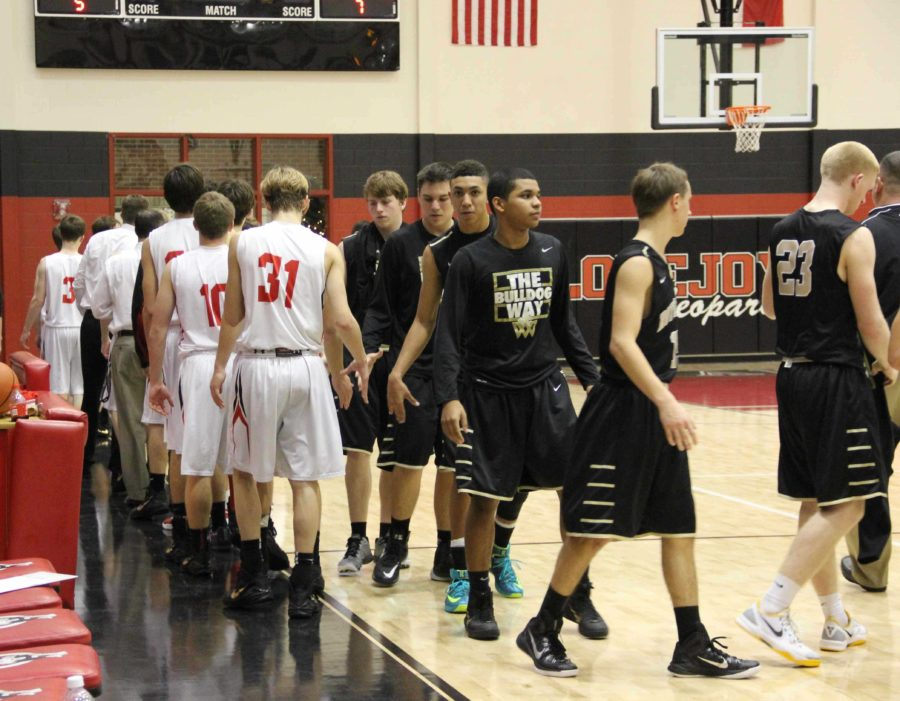 With a nail-biting win, the Leopards beat Royce City 48-41.