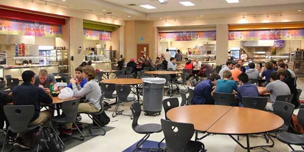 The cafeteria will be expanded by the new bond to accommodate an increase in students.
