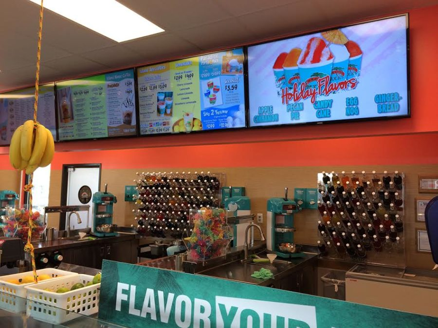 Bahama Buck's offeres a multitude of flavors to put anyone in the holiday spirit.