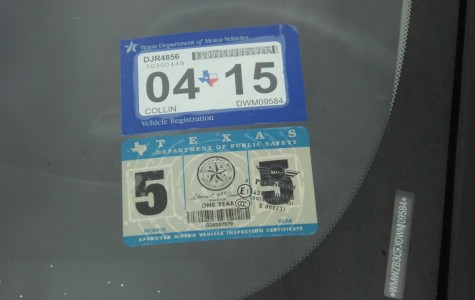 Auto inspection sticker changes