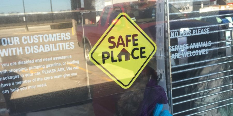 QuikTrip is considered a Safe Place, which is a place that runaway children can go to feel relaxed, is one of the places where the employees call Child Protective Services and make sure the kids are taken care of.