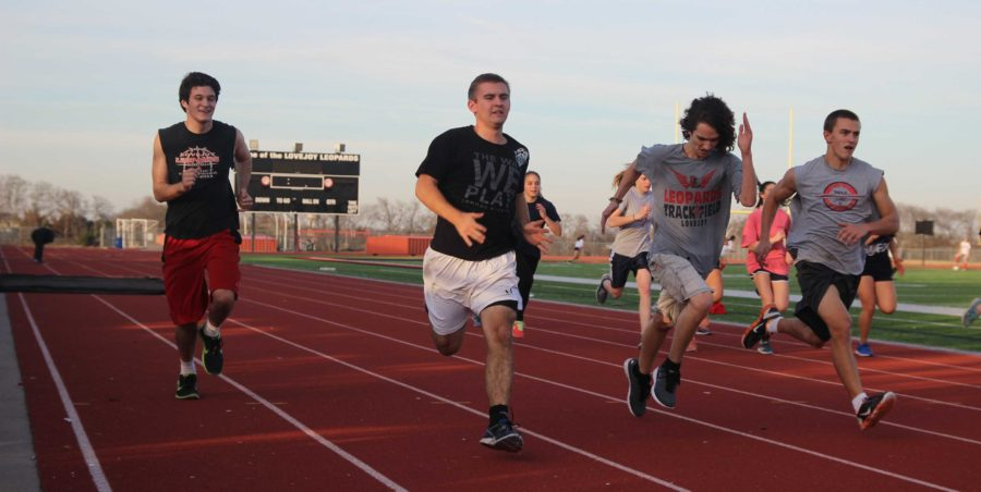 Track is officially in season and the track team has added multiple coaches and athletes to coach and compete in events like high jump, 100 meter dash, one mile, 4x400 meter relay, and discus.