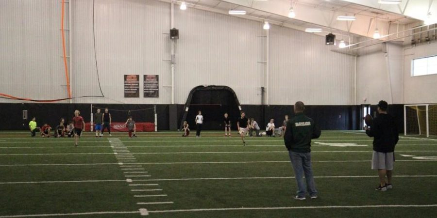 Most athletes are pretty dedicated to their sport but as the temperatures continue to drop, even the most dedicated might have to cut practice time short or workout in the indoor facility due to the 32 degree rule.