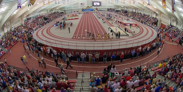 The+Arkansas+High+School+Invitational+was+held+at+the+Randal+Tyson+track+complex+which+is+indoor+and+about+half+the+length+of+a+standard+high+school+track.+