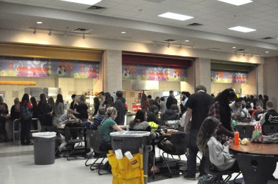 With crowding in the cafeteria reaching its peak and several options close to campus, there is a push  for off-campus lunch.