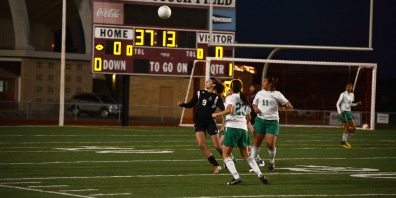 Last season, the girls soccer team lost in the third round of playoffs but they hope to improve starting tonight with their first district game against Denison at 6:00 p.m. at home.