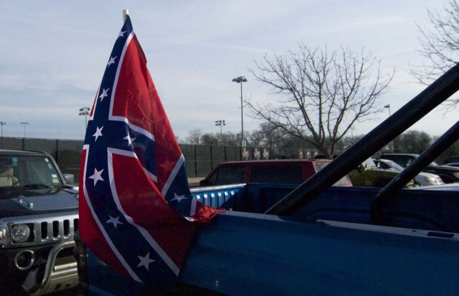 The Civil War ended 150 years ago, but the Confederate flag is still a hot topic. Recently some students on campus have been told they can no longer wear nor display the flag on school grounds. For junior Josh Shewmake, that has meant he can no longer fly the Confederate flag from the back of his truck.