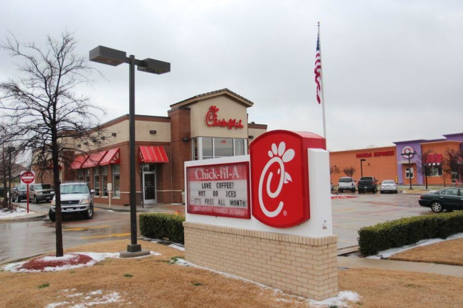 Throughout+the+month+of+February%2C+Chick-fil-A+is+offering+free+coffee%2C+hot+or+iced.+They+are+offering+cups+of+its+new+THRIVE+specialty+coffee.