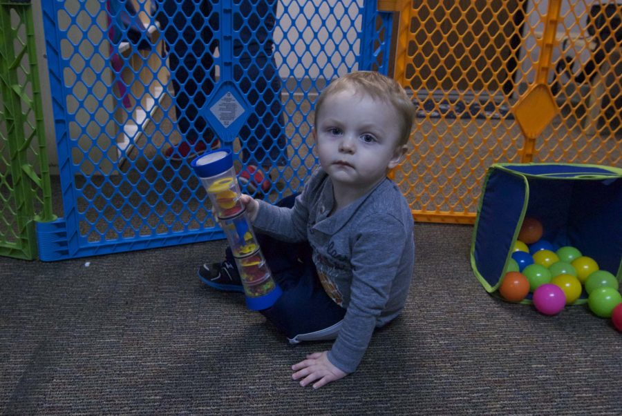 Toby poses for the camera. Children like Toby would greatly benefit from the donations of toys to the After-Christmas Toy Drive.