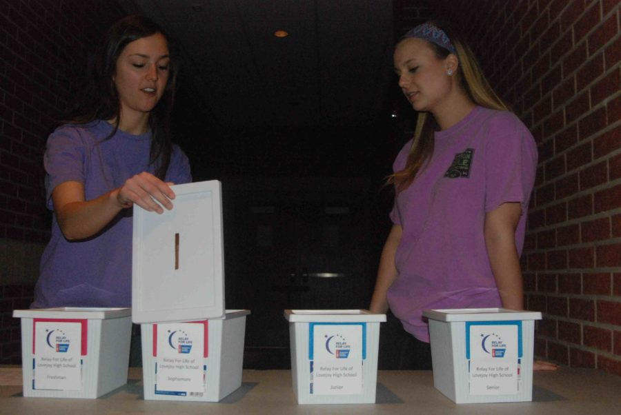 Penny Boxes are a fun competition and way for students to raise money for Relay For Life