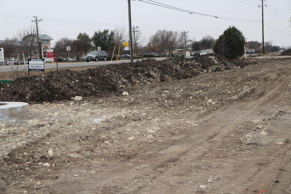 One of the most recent construction jobs is the expansion of Stacy Rd.