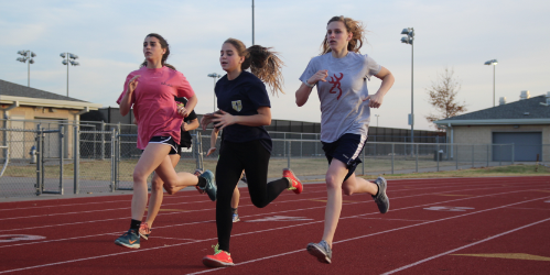 The first official track meet of the season is Saturday at Wylie high school with field events starting at 8 a.m. and running events starting at 12 p.m.