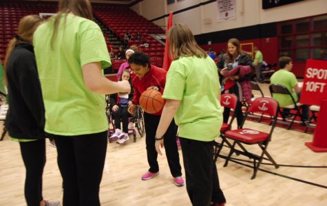 Special Olympics is a slam dunk