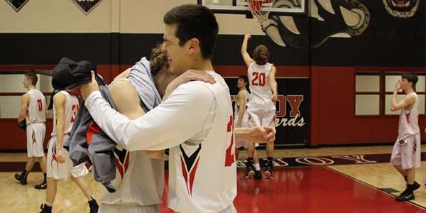 Boys basketball season ends with a big win