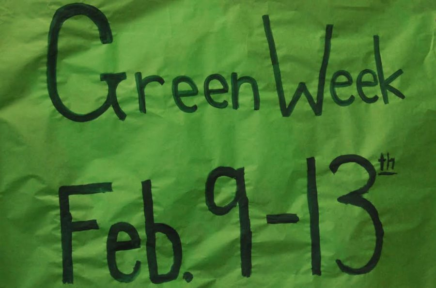 This+week+is+Green+Week%2C+there+have+been+things+measures+such+as+reduced+lighting+usage+and+teaching+students+environmental+factors.++