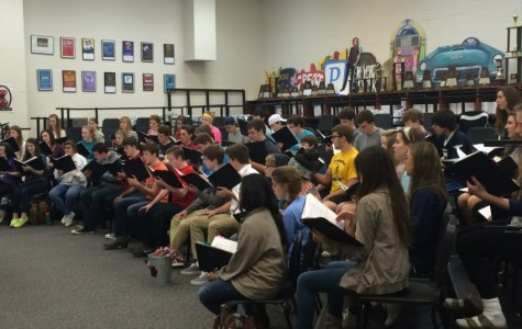 Choir sings in tune with the Air Force