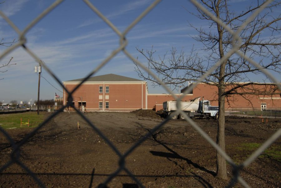 The B-Hall is being extended and will contain a STEM Lab.