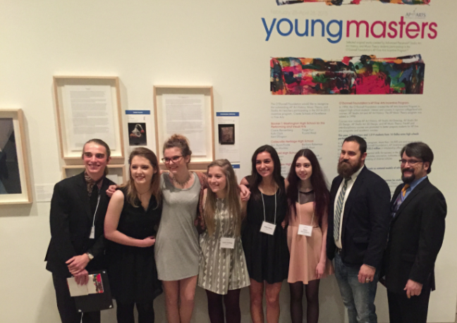 A+select+few+art+students+were+chosen+to+have+their+pieces+on+display+in+the+Dallas+Museum+of+Art.