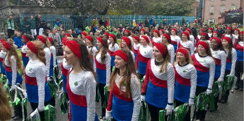 The Majestics traveled to Ireland to preform in the St. Patrick's Day Parade in Ireland, but they made sure to do some sight seeing of Europe while they were overseas.