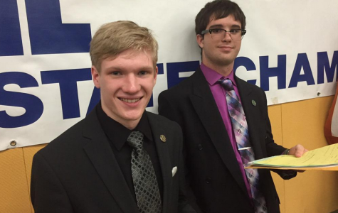 Juniors make school history in debate