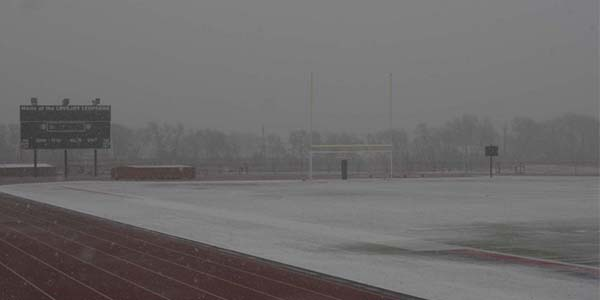 The District is seeking a waiver from the State of Texas for the third snow day.